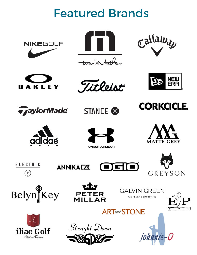 list of Featured Brands
